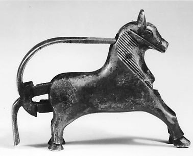 Padlock in the Shape of a Galloping Horse
