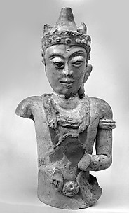Head and Torso of a Deva
