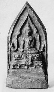 Seated Buddha Enthroned