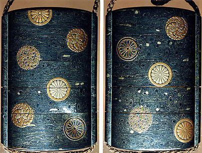 Case (Inrō) with Lacquered Medallions