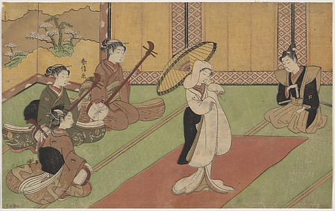 Woman Dancer in Daimyo's Palace