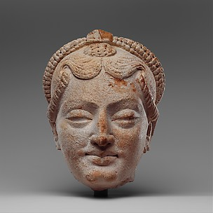 Head of a Female Figure