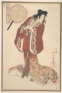 Hinazuru of Naka Ogi-ya as an Onna Jittoku