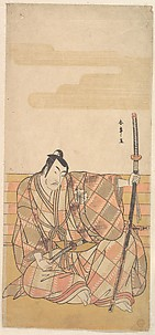 The Fourth Matsumoto Koshiro as a Samurai