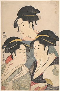 Three Beauties of the Kwansei Period