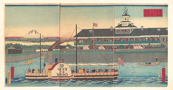 The Tsukiji Hotel, the First Western Style Hotel Built in Tokyo, and the Paddle Steamer City of Edo