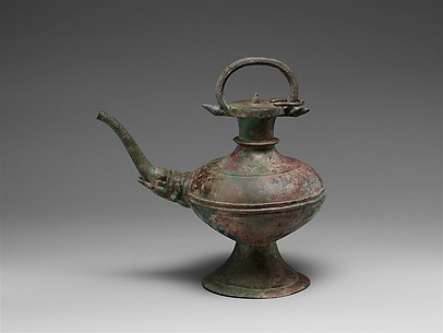 Ewer with Elephant-Headed Spout