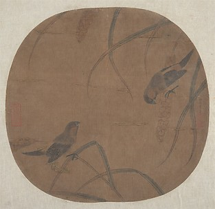 Sparrows and Millet