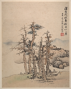 Landscapes after Song and Yuan Masters