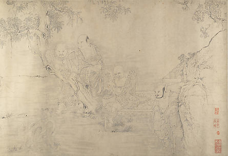 (Copy after) The Sixteen Luohans