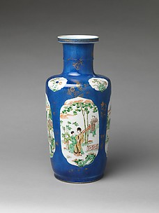 Vase with Scenes of Women in Landscapes