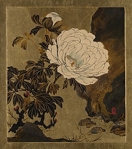 Lacquer Paintings of Various Subjects: Peonies