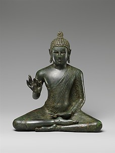 Seated Buddha Expounding the Dharma