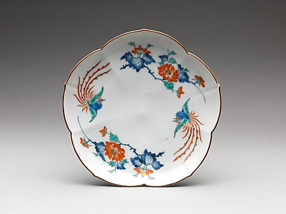 Dish with Phoenixes