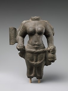 Torso of Standing Four-Armed Durga
