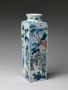 Vase with King Wen Visiting the Scholar Jiang Taigong