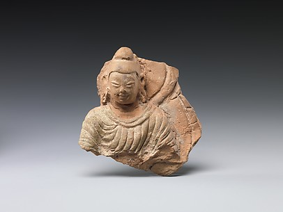 Buddha with Halo and Mandorla