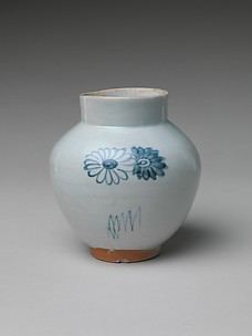 Jar with Chrysanthemums