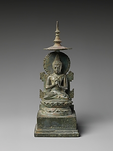 Seated Vairochana, the Transcendent Buddha of the Center