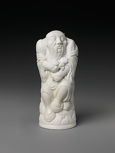 Snuff Bottle Depicting the God of Longevity