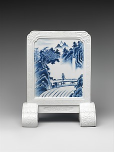 Desk Screen with Chinese Landscape