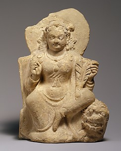 Goddess, Possibly Nana, Seated on a Lion
