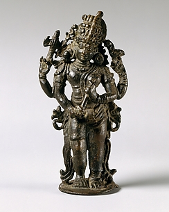 The Half-Male, Half-Female Form of Shiva (Shiva Ardhanarishvara)