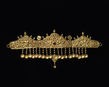 Diadem with Kinnaris (Half-Bird, Half-Female Creatures)