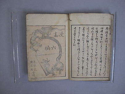 Transmitting the Spirit, Revealing the Form of Things: Hokusai Sketchbooks, volume 6 (Denshin kaishu: Hokusai manga, rokuhen)
