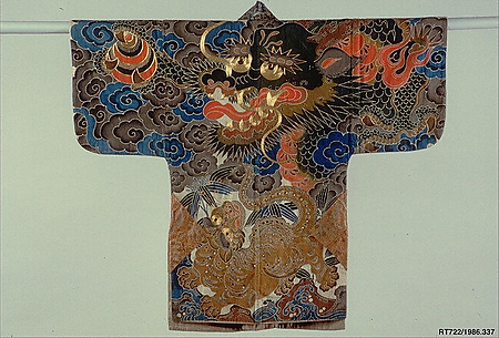 Festival coat with dragon