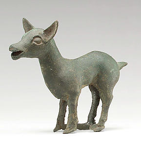 Chariot Yoke Ornament in the Shape of a Doe