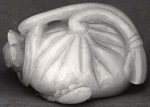 Paperweight in form of a Lotus Pod