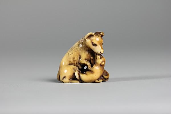 Netsuke of Dogs