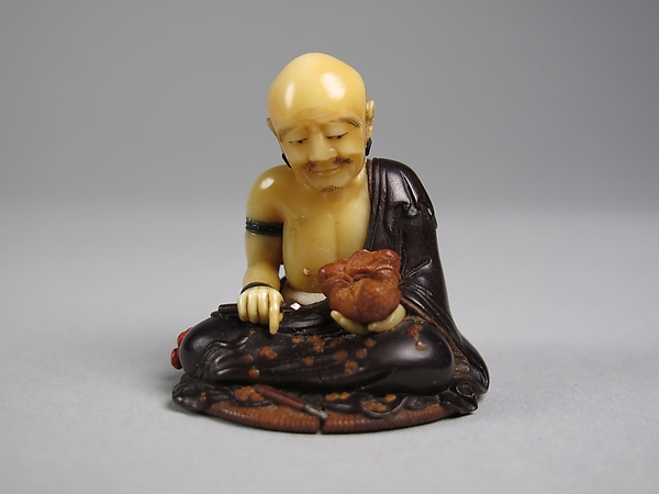 Netsuke of Wood Carver