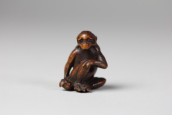 Netsuke of a Kappa
