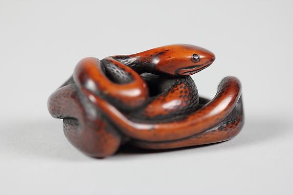 Netsuke of Snake