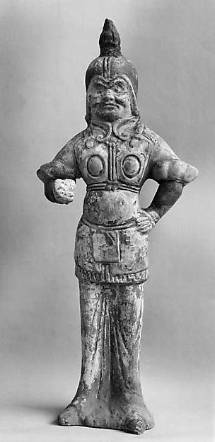 Figure of a Standing Warrior
