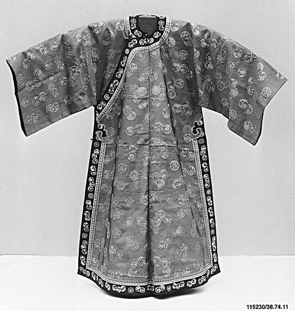 Women's Tapestry-Woven (Kesi) Robe with Roundels