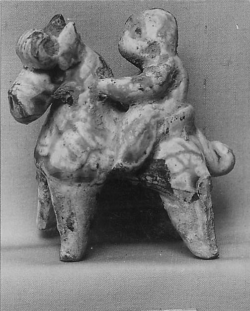 Figure of a Miniature Equestrian