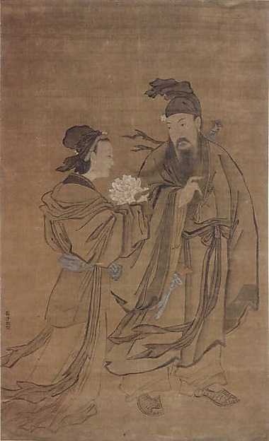 Lu Dong Bin and the Spirit of the Lotus