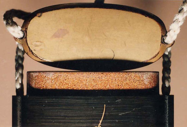 "Case (Inrō) with Object from the Noh drama ""Hachinoki"""