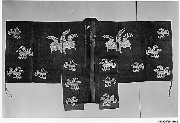 Noh Costume (Chōken) with Paulownia