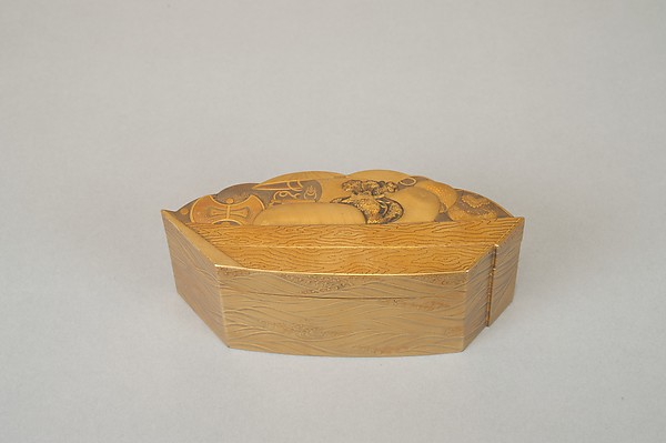 Treasure Boat-shaped Incense Box [Kōgō]