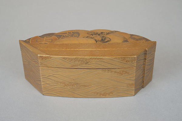 Treasure Boat-shaped Incense Box [Kōgō]