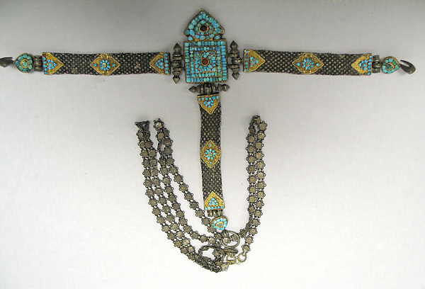 Belt with Attached Chain