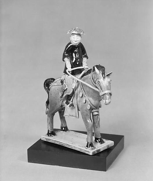 Figure of Gentleman on Horseback