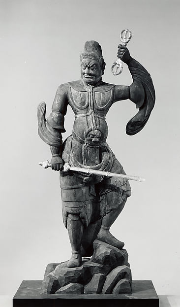 天部立像<br/>Guardian Figure (Ni-Ten)