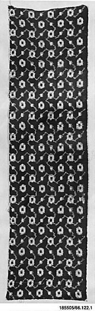 Piece of Cloth for Kimono with Pattern of Stylized Rosettes