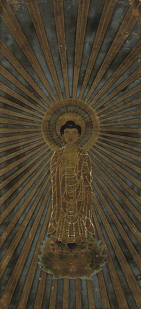 方便法身尊影<br/>Amida Manifesting in the Dharma-body of Expedient Means