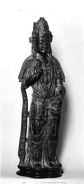 Statuette of Bodhisattva